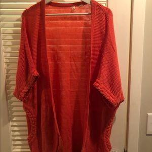 Anthropologie knit cardigan